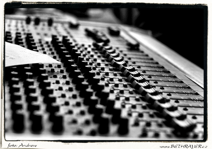 Bethrayer recording session (Sopa studio 2007) 06.jpg