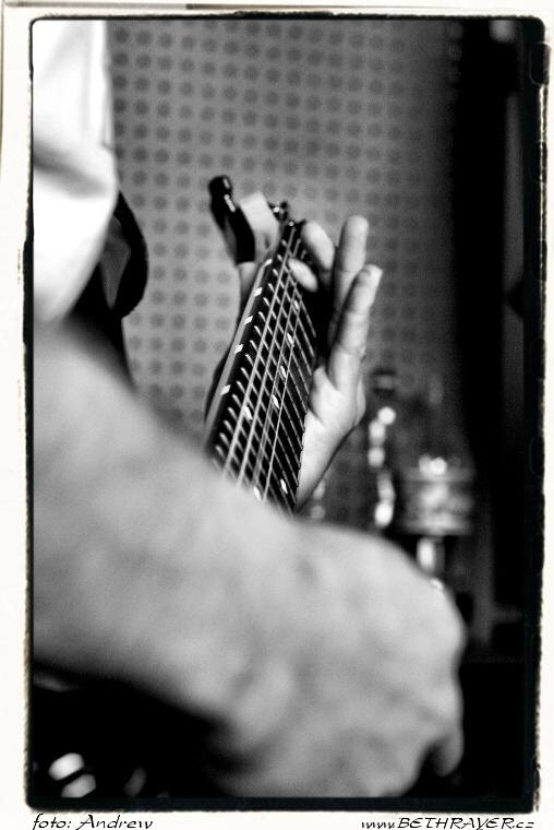 Bethrayer recording session (Sopa studio 2007) 09.jpg