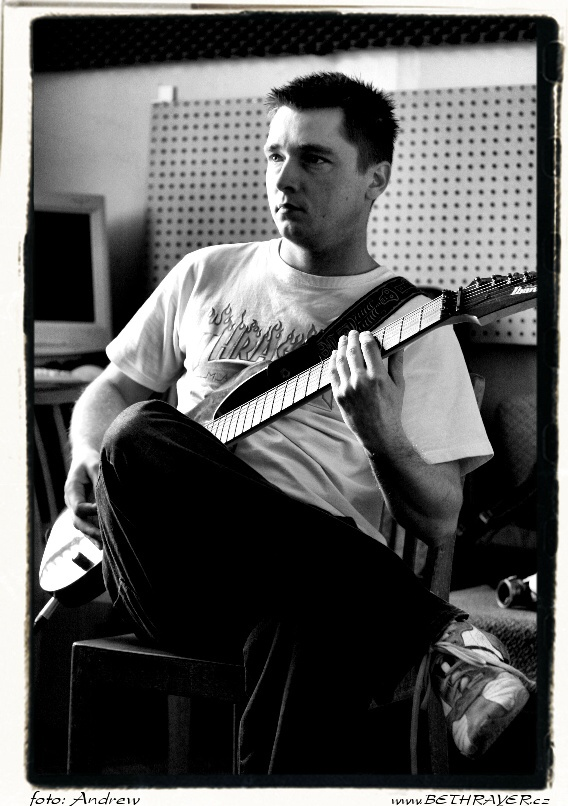 Bethrayer recording session (Sopa studio 2007) 26.jpg